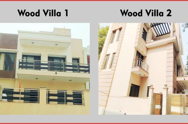 luxury villas in chattarpur image